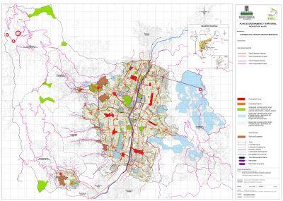 Medell n mapa del sistema vial estructurante municipal for Mapa facultad de arquitectura