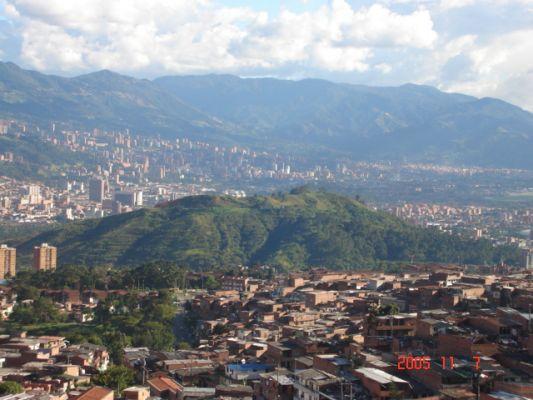 Sexo en un cerro de Medellín